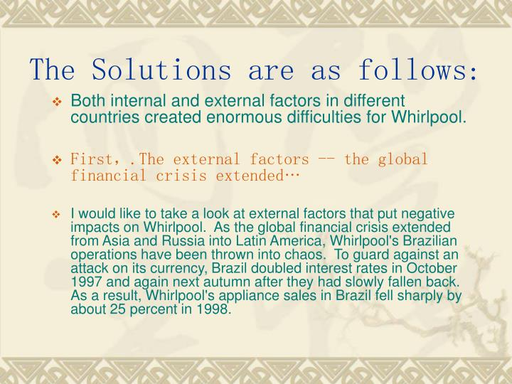 The Solutions are as follows:
