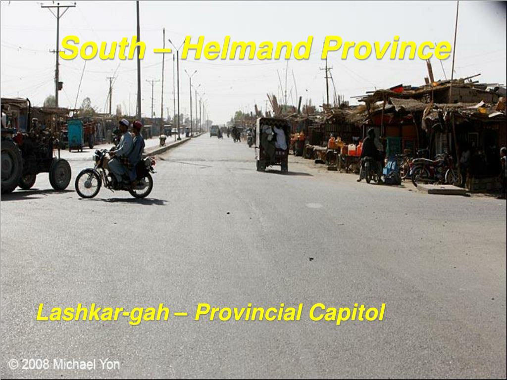 South – Helmand Province
