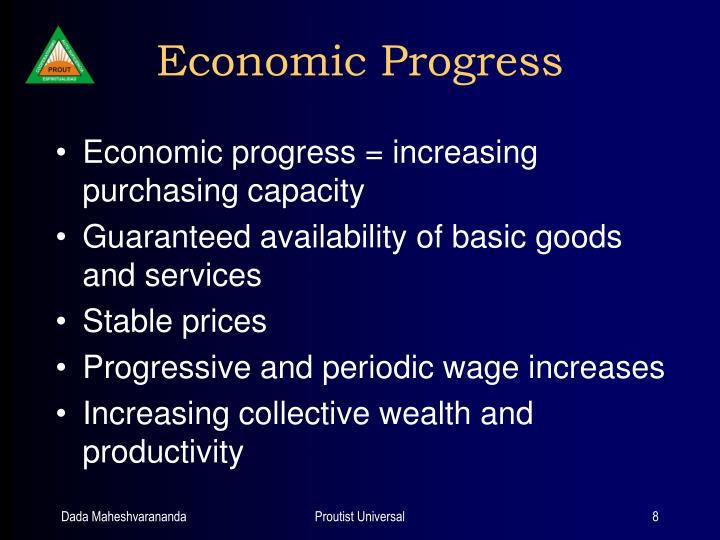 Economic Progress