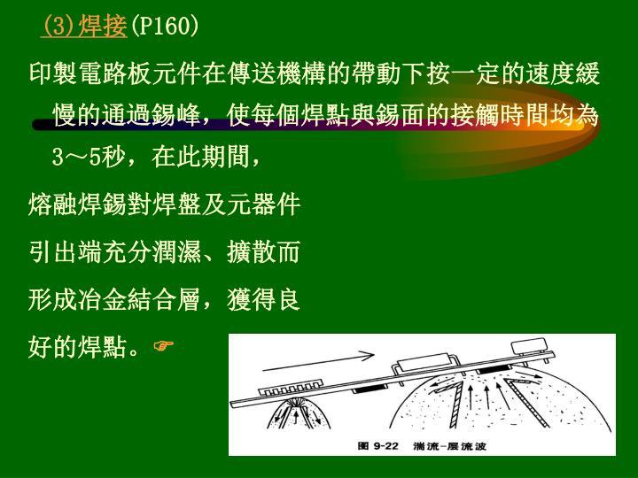 (3)焊接
