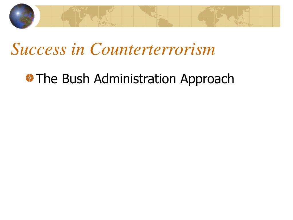 Success in Counterterrorism