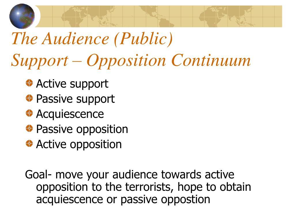 The Audience (Public)