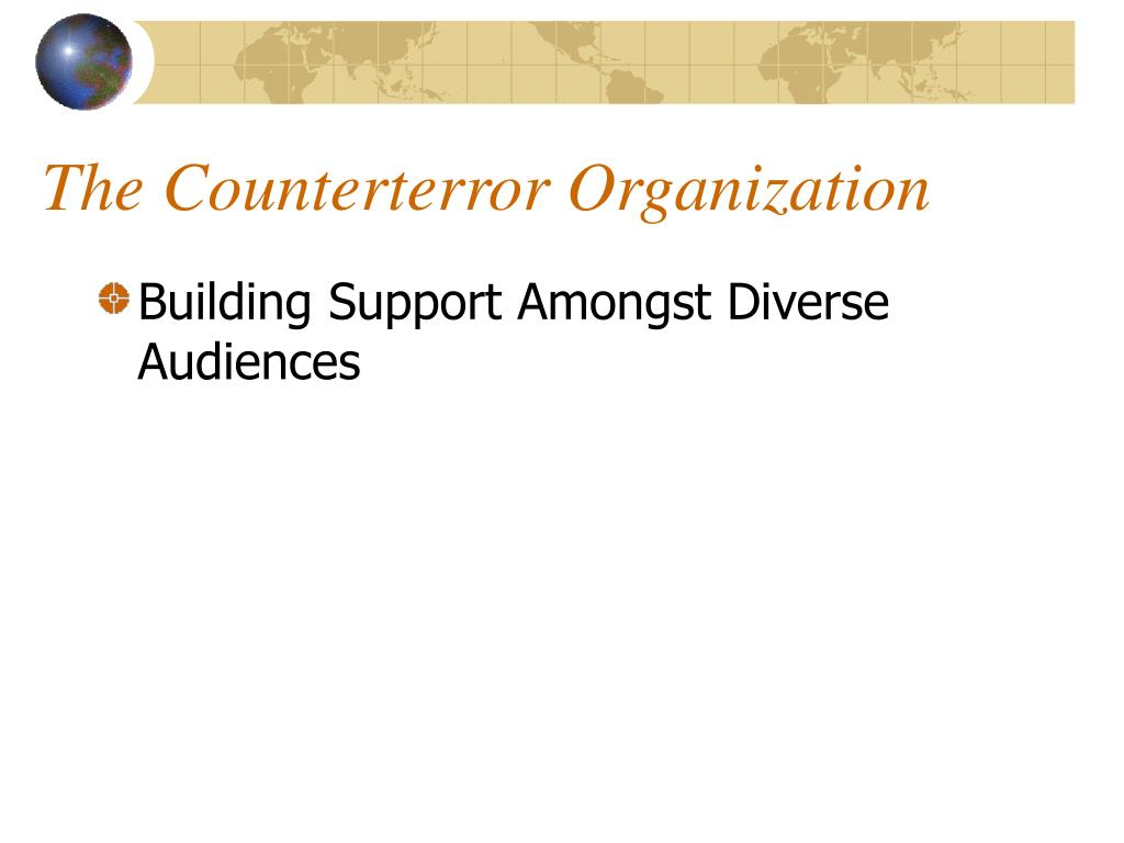 The Counterterror Organization