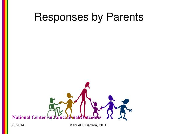 Responses by Parents