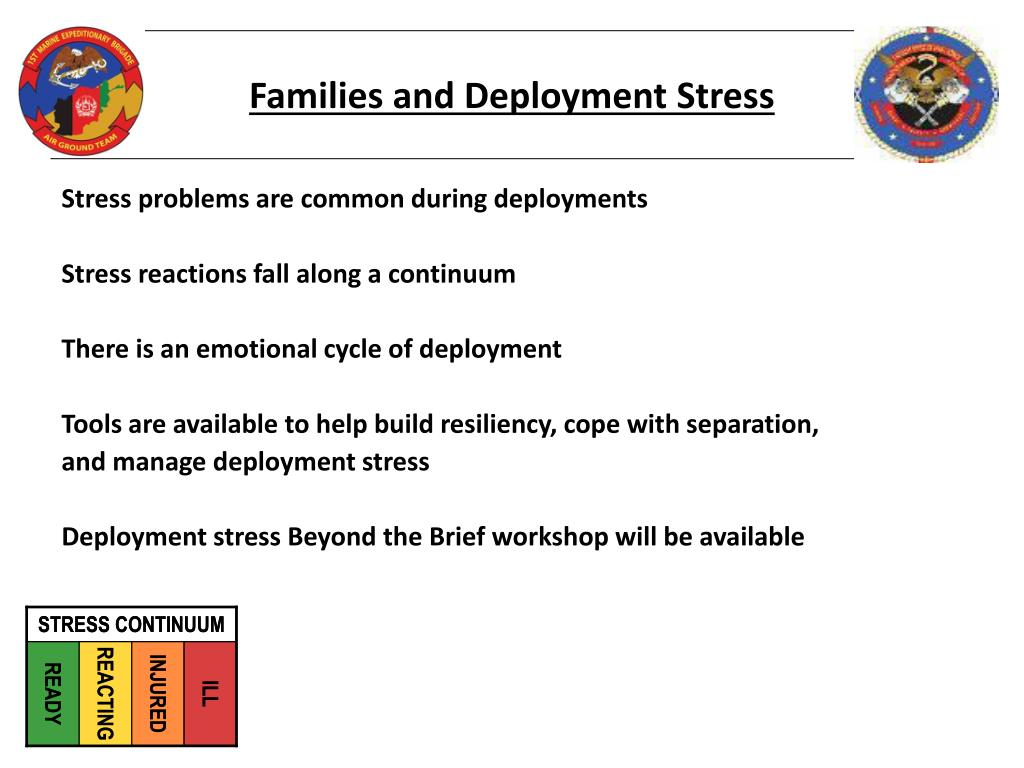 Families and Deployment Stress