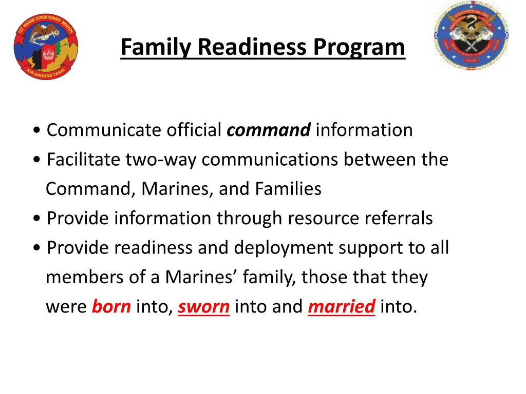 Family Readiness Program