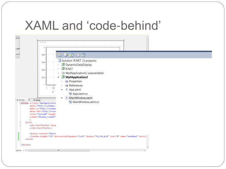 XAML and 'code-behind'