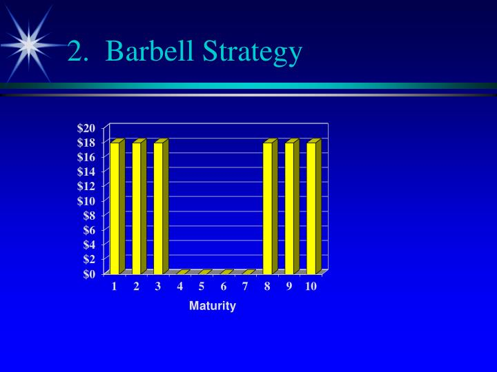2.  Barbell Strategy