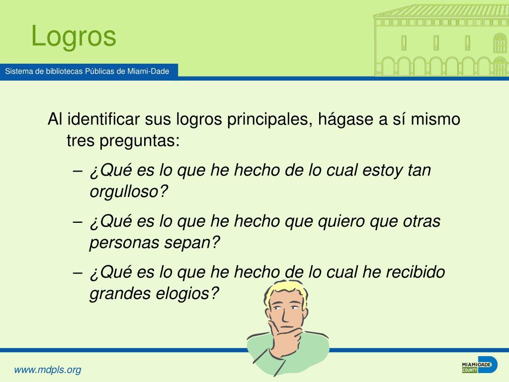 Logros
