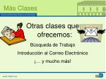 m s clases