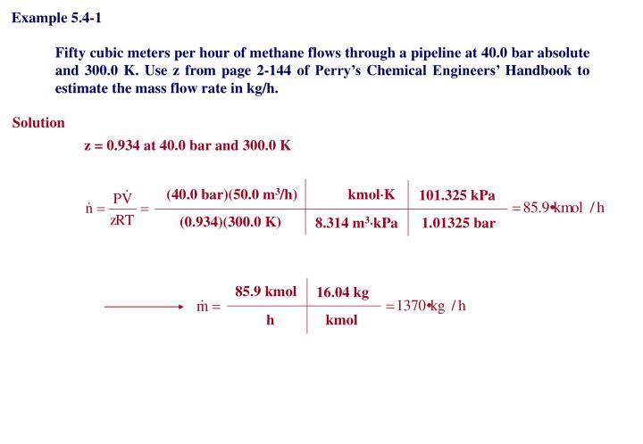 Example 5.4-1