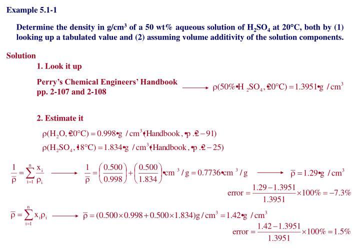 Example 5.1-1