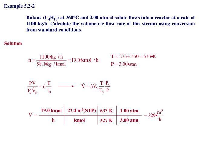 Example 5.2-2