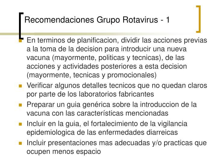 Recomendaciones Grupo Rotavirus - 1