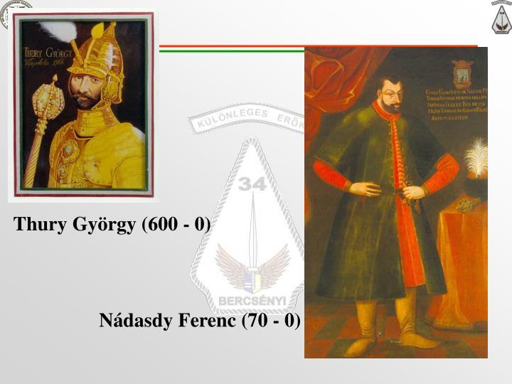 Thury György (600 - 0)
