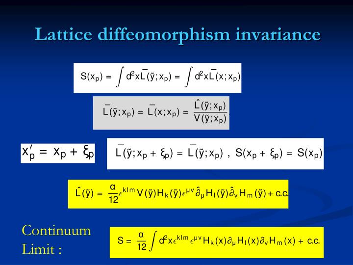 Lattice diffeomorphism invariance
