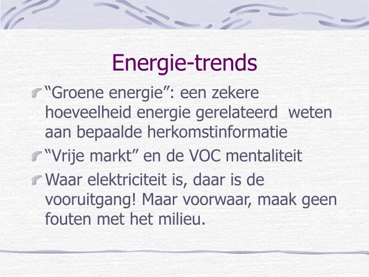 Energie-trends