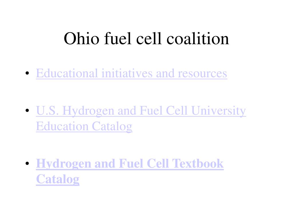 Ohio fuel cell coalition