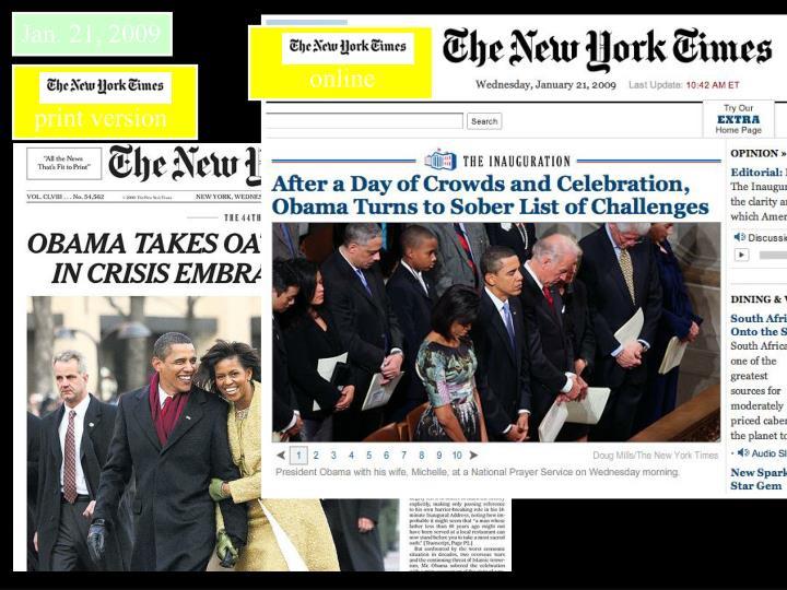 Jan. 21, 2009