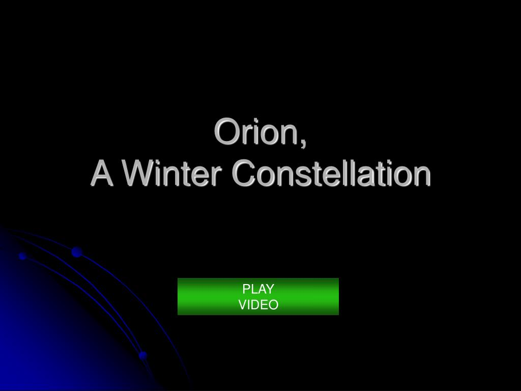 Orion,