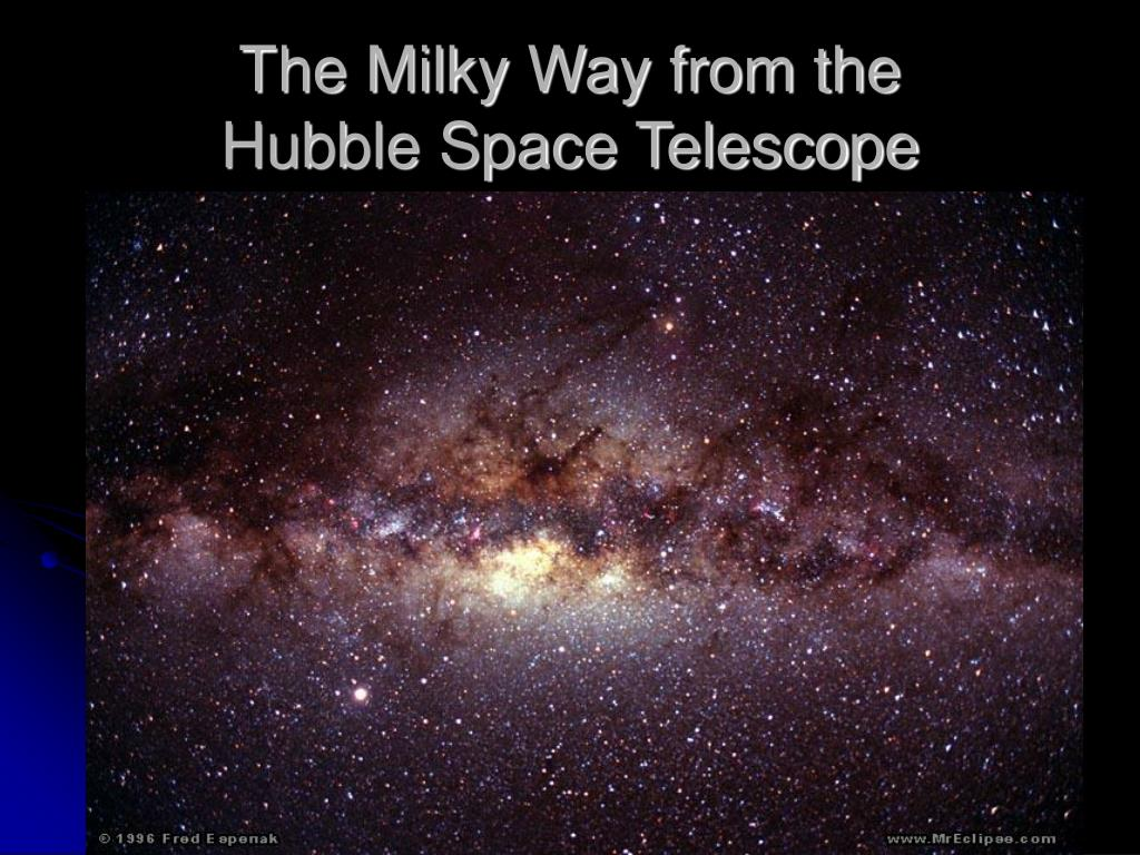 The Milky Way from the