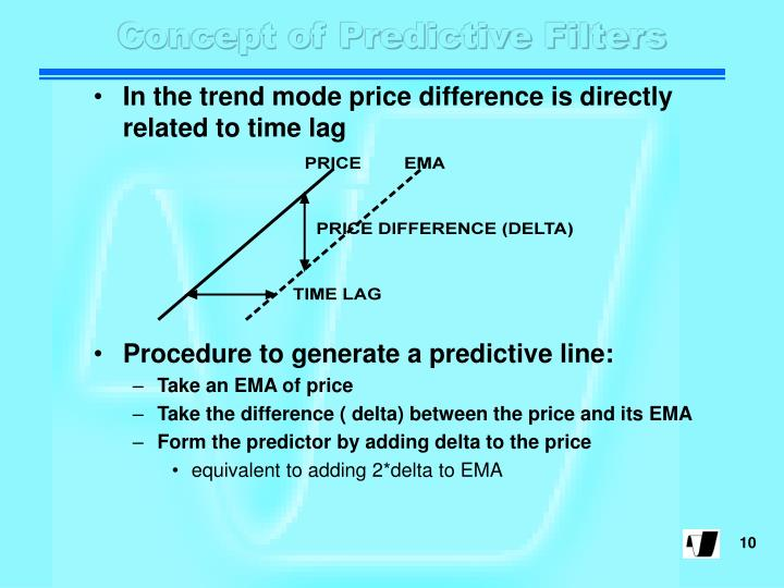 Concept of Predictive Filters