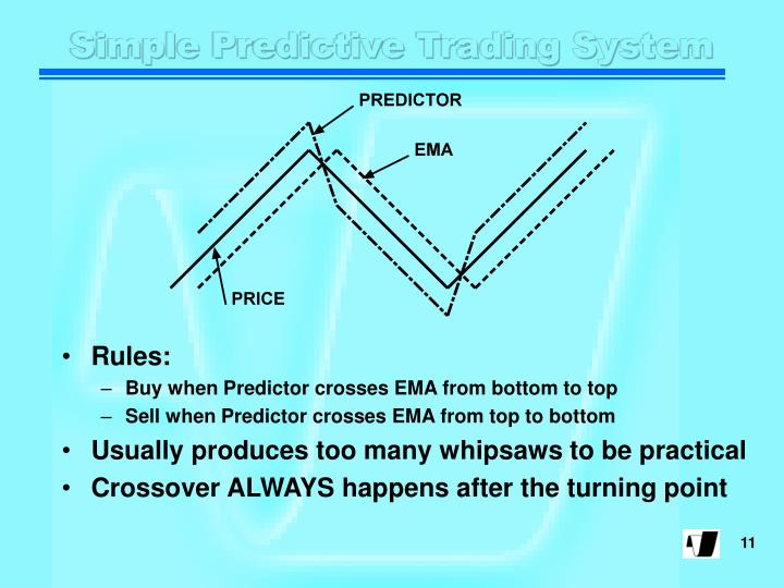 Simple Predictive Trading System