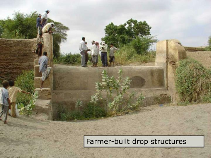 Drop structure