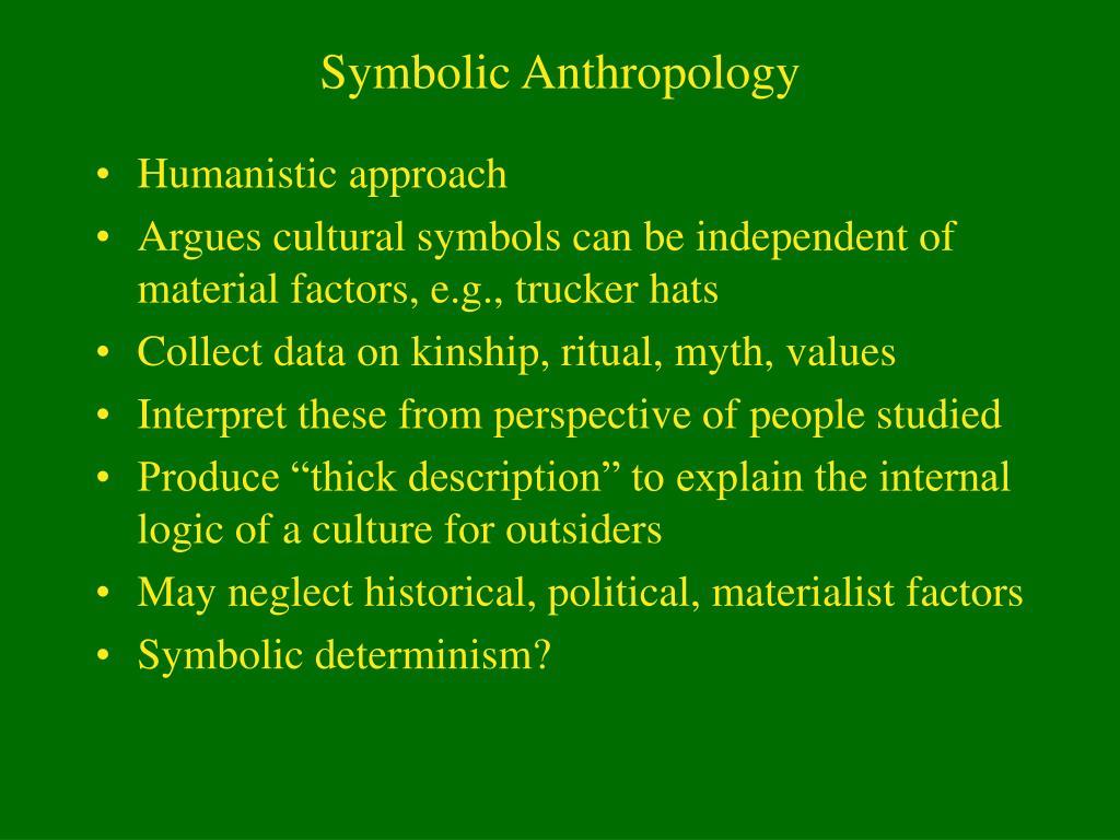 Symbolic Anthropology