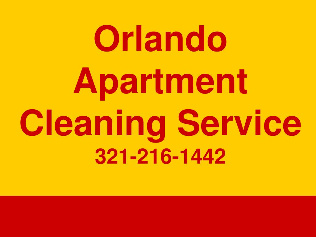 orlando apartment cleaning service 321 216 1442