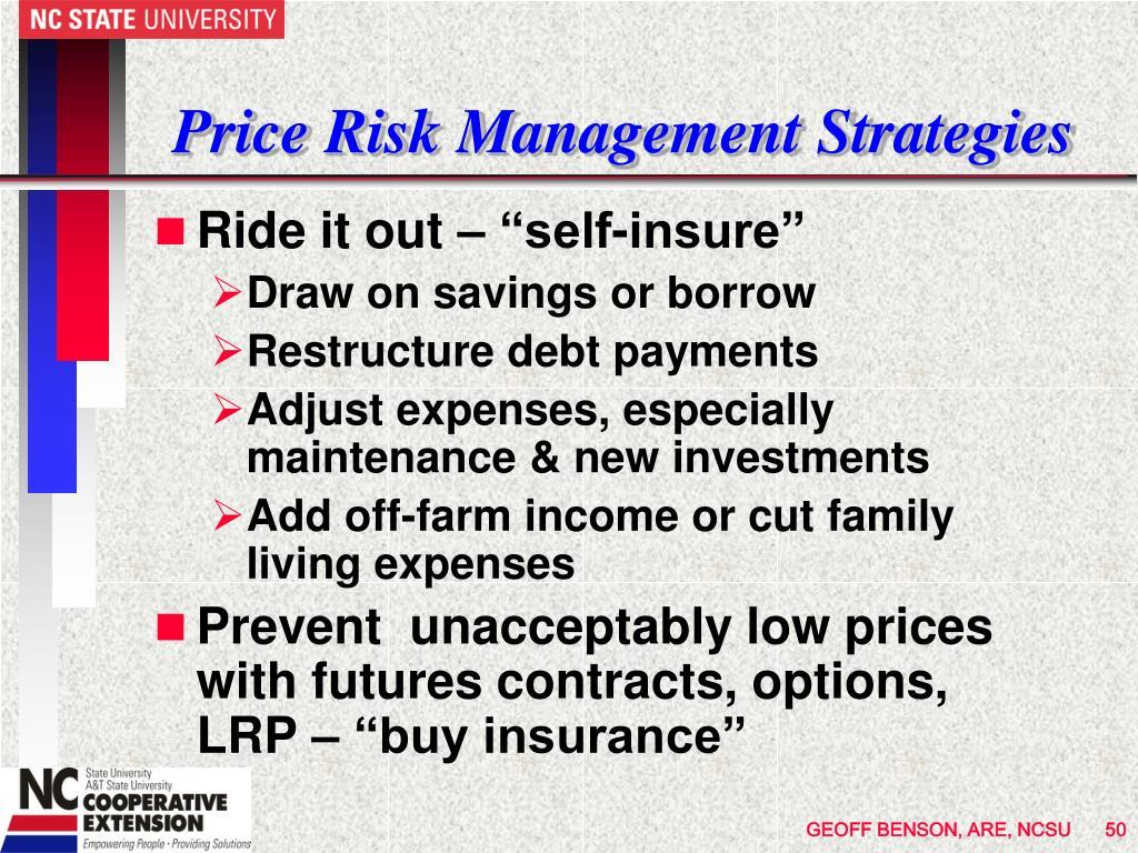 Price Risk Management Strategies