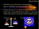 black holes56