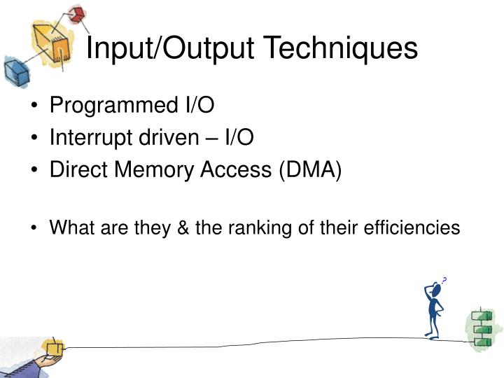 Input/Output Techniques
