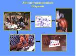 african trypanosomiasis diagnosis