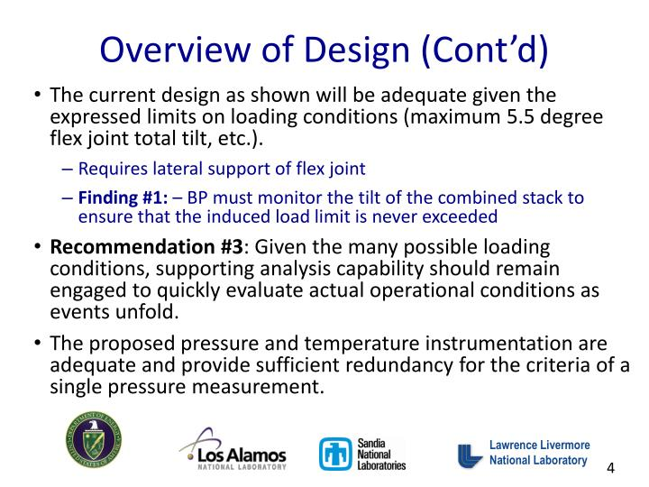 Overview of Design (Cont'd)