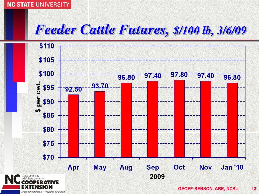 Feeder Cattle Futures,