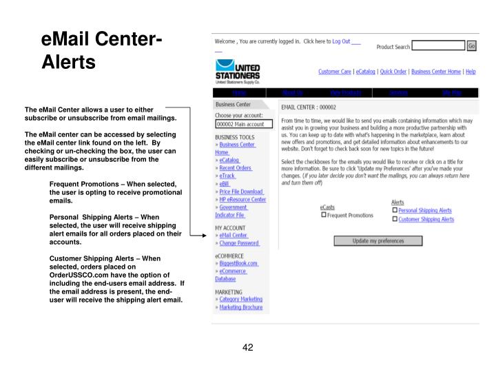 eMail Center-