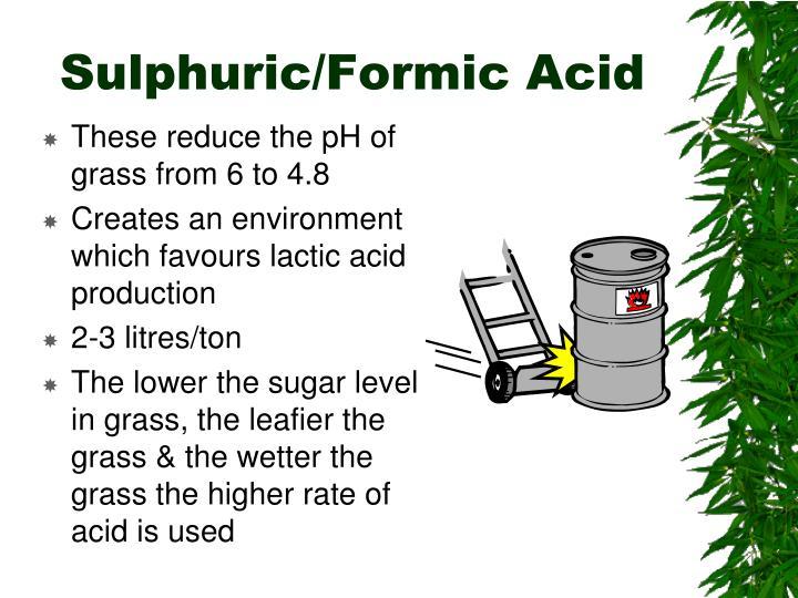Sulphuric/Formic Acid