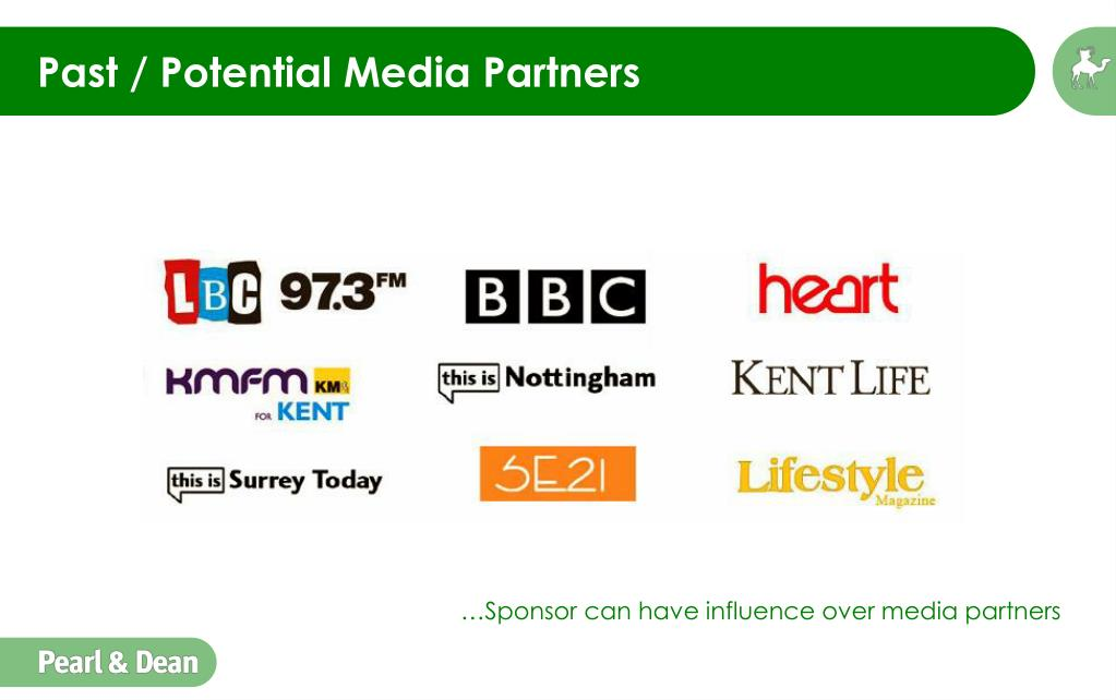 Past / Potential Media Partners