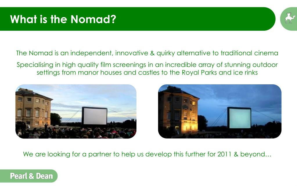 What is the Nomad?