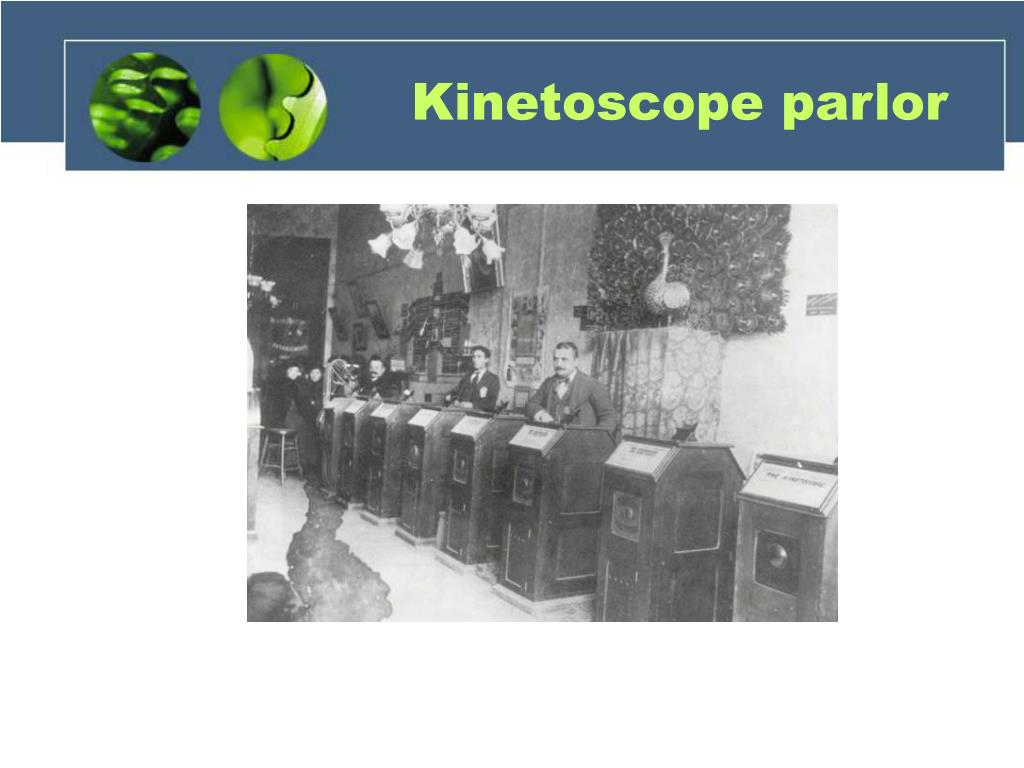 Kinetoscope parlor