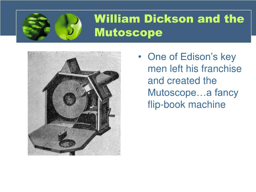 William Dickson and the Mutoscope