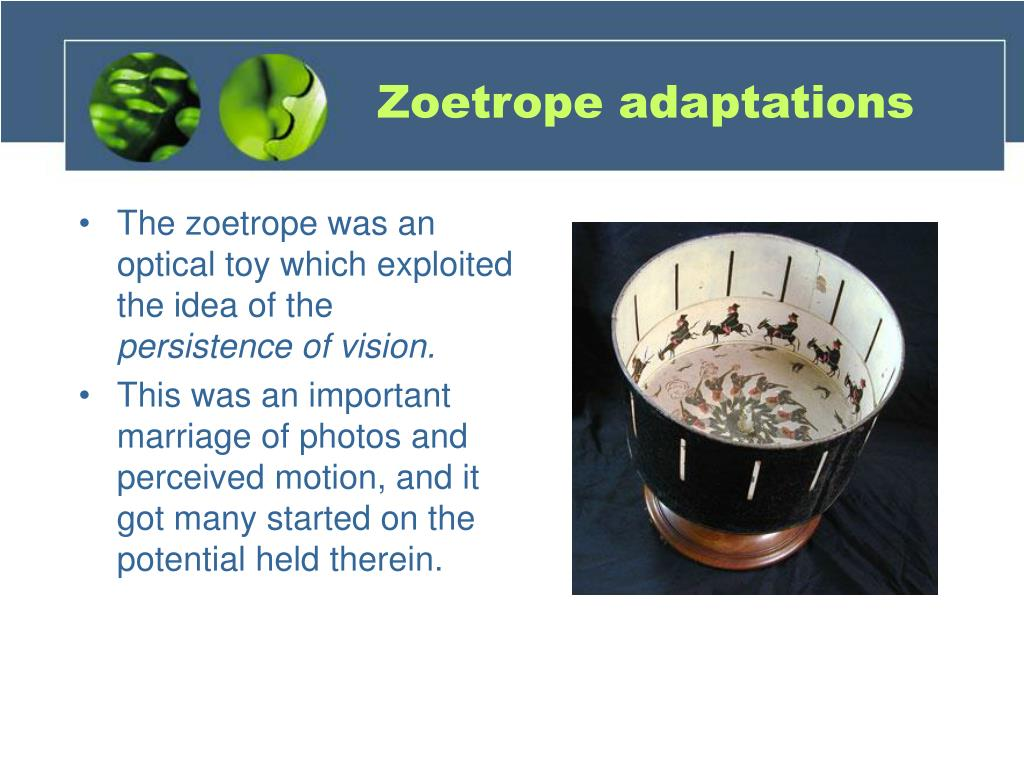 Zoetrope adaptations