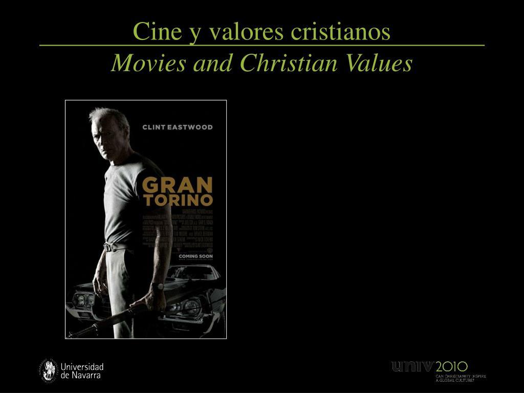 Cine y valores cristianos