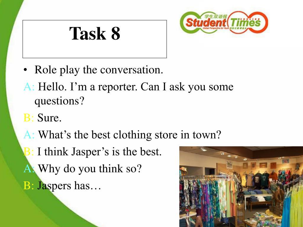 Task 8