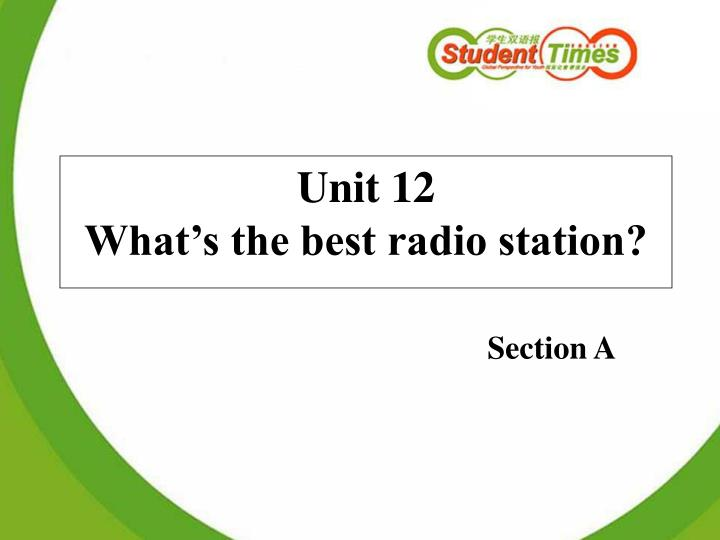 Unit 12 what s the best radio station l.jpg
