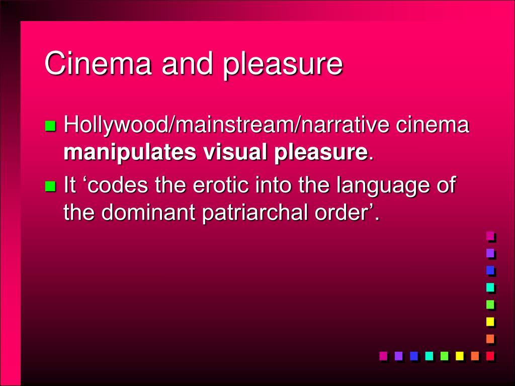 Cinema and pleasure