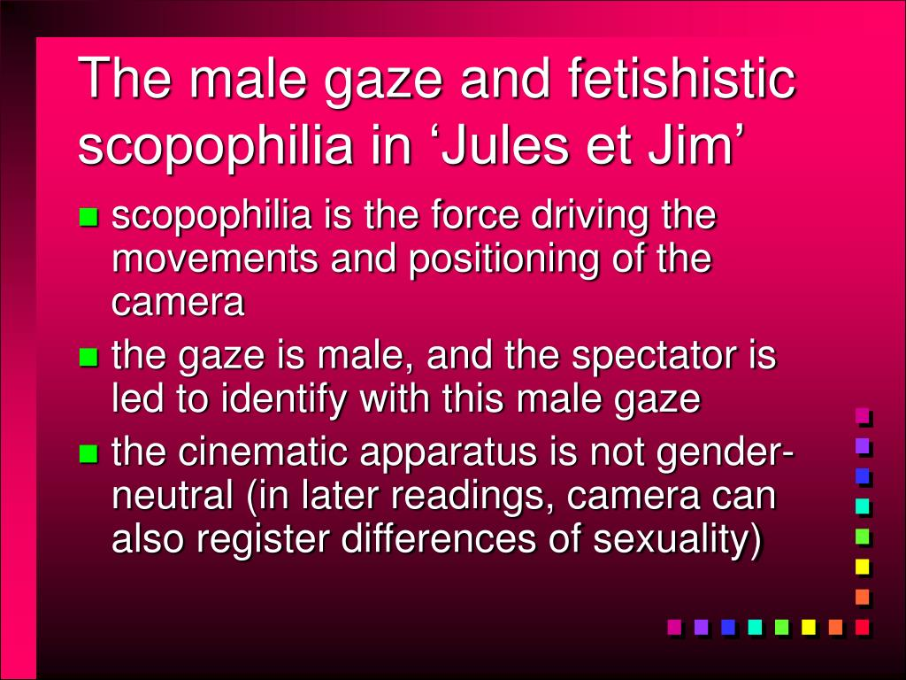 The male gaze and fetishistic scopophilia in 'Jules et Jim'