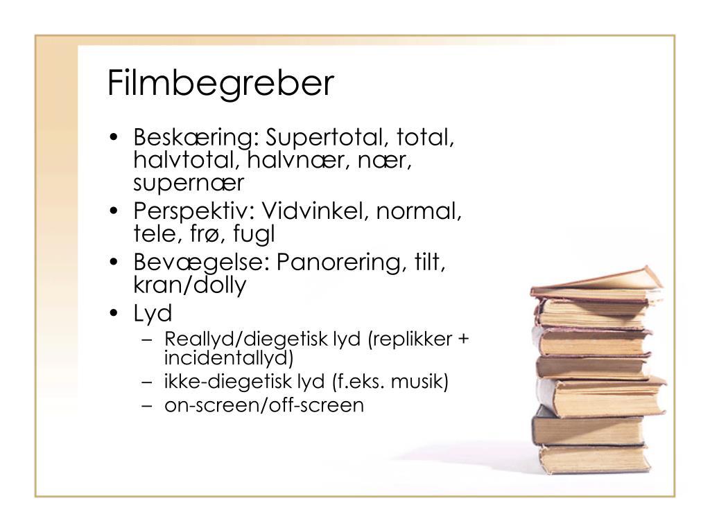 Filmbegreber