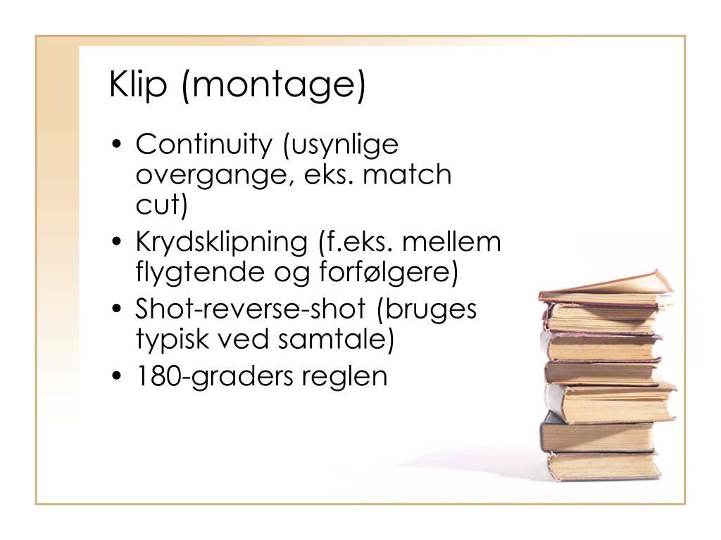 Klip (montage)